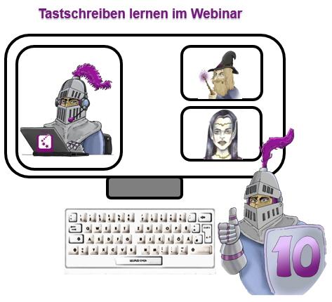 Webinar - Tastschreiben online lernen